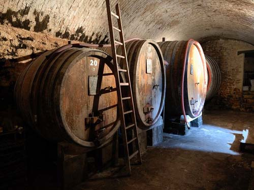Journée route des vins Domaine pontifical à Chateauneuf du pape