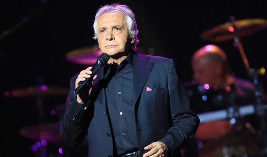 Michel Sardou en concert