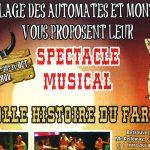 """Spectacle musical """"La Folle Histoire du Far West"""""""