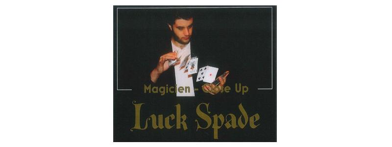 Luck Spade Magicien