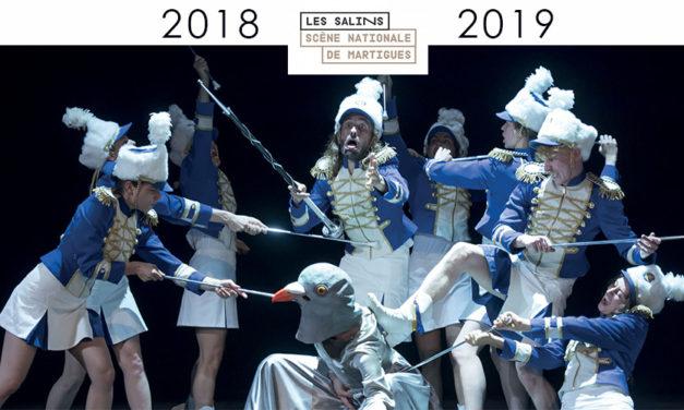 Saison 2018 2019 Théatre des Salins Martigues
