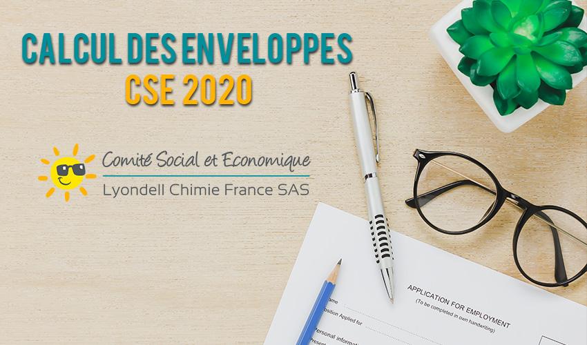Calcul des enveloppes CSE 2020