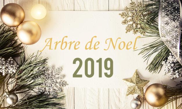 Invitation Arbre de Noël 2019