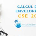Calcul des enveloppes CSE 2021